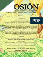 Revista de pensamiento anarquista, Erosión Nº5