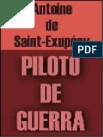 Antoine de Saint-exupery-Piloto de Guerra