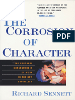 Richard Sennett-The Corrosion of Character