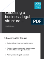 business legal structures ppt  1