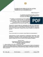 A GESTÃO DOS SERVIÇOS PÚBLICOS DE SAÚDE caracteristicas e exigencias.pdf