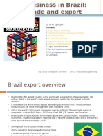 Brazil Trade and Export Guide