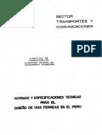 Reglamento Nacional de Ferrocariles del Perú