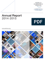 WEF Annual Report 2014 15