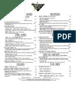 Wobbly Olive 2016 summer food menu
