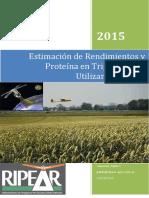Drones y Proteina