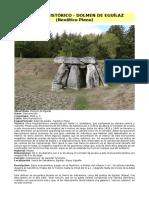 Arte Prehistórico - Dolmen de Eguílaz (Neolítico Pleno)
