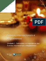 Eventos internacionais e Mega eventos