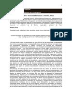 Revista Observaciones Filosófica El Pensamiento de La Contingencias