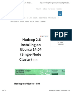 Hadoop Ubuntu