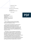 US Department of Justice Civil Rights Division - Letter - tal399