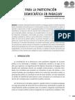 DESAFIOS PARA LA PARTICIPACION POLITICA DEMOCRATICA EN PARAGUAY - LILIANA ROCIO DUARTE - PORTALGUARANI
