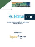 Manual Estructura Organizacional