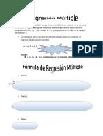 Regresión Y Coeficiente de Correlación Múltiple