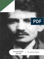 Jacob, Alexander Marius - Por Qué He Robado