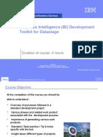 IBM BI Tookit Datastage V1 0