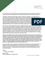 letter of recommendation - diana gardner