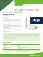 Archer T4UH V1 Datasheet