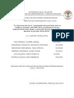 La intervención de la  Comunidad Internacional ante el conflicto armado de Colombia
