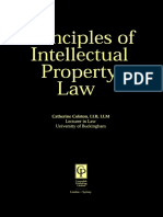 103 Intellectual Property Law Principles of Law