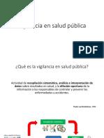 3. Vigilancia en Salud Pública