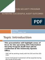 usg information security program audit v2