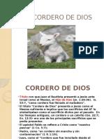 El Cordero de Dios Diapositivas