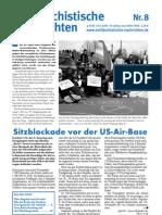 antifaschistische nachrichten 2003 #08