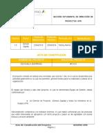 Acta de Constitución Cevichela