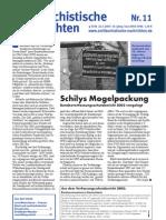 antifaschistische nachrichten 2003 #11
