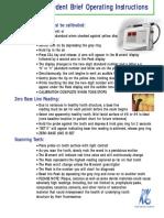 KaVo Diagnodent 2095 brochure