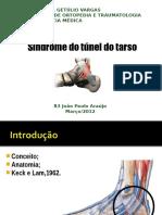 2) Síndrome Do Túnel Do Tarso