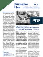 antifaschistische nachrichten 2003 #12