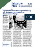 antifaschistische nachrichten 2003 #13
