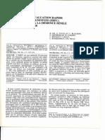 Gil Et Al. - Une Méthode d'Évaluation Rapide des Foctions cognitives. Son application à la maladie d'AlzheimerDes Fonctions Cognitives (ERFC)