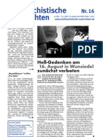 antifaschistische nachrichten 2003 #16