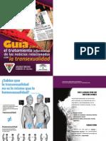 Guía para el tratamiento informativo noticias relacionadas transexualidad
