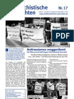 antifaschistische nachrichten 2003 #17