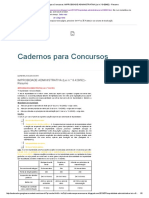 Cadernos para Concursos_ IMPROBIDADE ADMINISTRATIVA (Lei n.° 8
