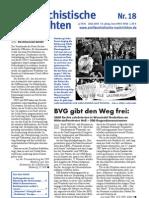antifaschistische nachrichten 2003 #18