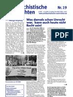 antifaschistische nachrichten 2003 #19