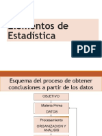 Elementos de Estadística