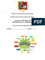 Manual de Practicas de Metrologia y Normalizacion