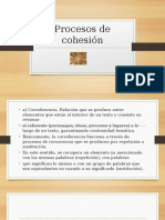 Elementos de Cohesión 2015