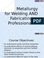 Basic Metallurgy for Welding and Fabricating Professionals