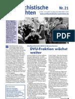 antifaschistische nachrichten 2003 #21