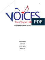 voices communication audit final pdf