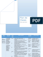 plan multigrado panchamé español 6°