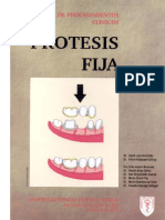 Manual de Procedimientos Clínicos Prótesis Fija - David Loza