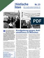 antifaschistische nachrichten 2003 #23